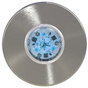 Mini nova - CCEI - Projecteur à LED en inox brossé À visser sur le refoulement | Blanc froid 14W - M12