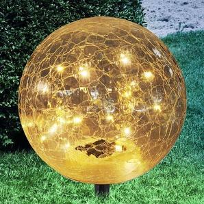 Lampe solaire déco Nurel sphérique 25 cm