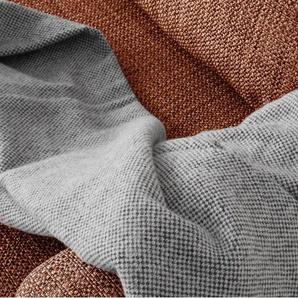 Arkley, plaid en laine 125 x 170 cm, gris