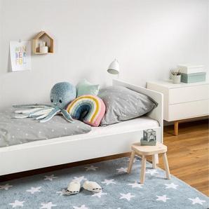 Tapis lavables pour enfants Bambini Stars Bleu 150x225 cm - Tapis lavable pour chambre denfants/bébé