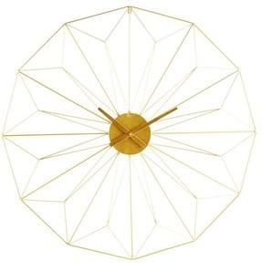 Horloge en métal doré D100