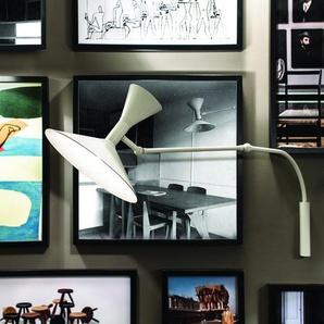 LAMPE DE MARSEILLE MINI-Applique murale 2 lumières Aluminium L85cm Blanc Nemo - designé par Le Corbusier
