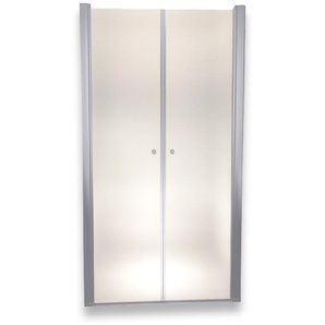 Porte de douche 185 cm largeur réglable 120-124 cm Dépoli-opaque - MONMOBILIERDESIGN