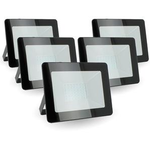 Lot de 5 projecteurs 30W IP65 extérieur | Température de Couleur: Blanc neutre 4000K - ECLAIRAGE DESIGN