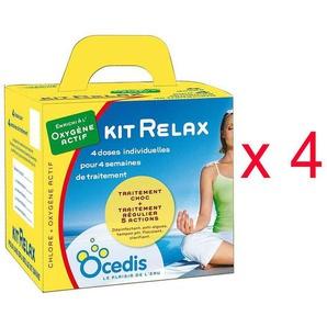 Pack 4 mois oxygène actif Ocedis KIT RELAX piscine 75m³