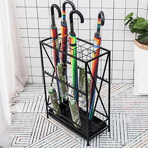 Support de parapluie Support de parapluie de ménage Fer multifonctionnel de pluie gear rack de stockage Bureau parapluie étagère (Couleur : B)