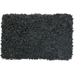 Tapis rectangulaire Bonnie noir
