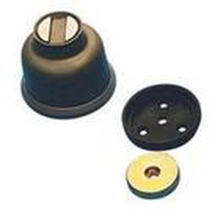 Arrêtoir magnétique - Force : 30 kg - B : 30 - Diamètre : 71,30 mm - E : 70 - ARELEC