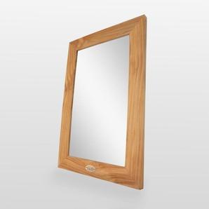 Miroir de salle de bain - Teck 60x40 cm - Classic - RUE DU BAIN