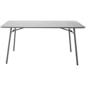 Table de jardin en métal L 160 cm Harrys