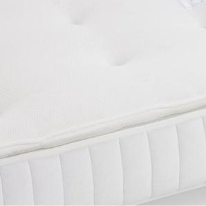 Tuvo Essential, matelas Essentiel simple 90 x 190 cm, dessus à coussinet, blanc