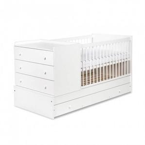 Lit bébé évolutif 3 en 1 - Blanc