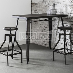 Table haute industrielle en acier WINDSOR
