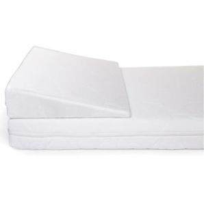 CHILDHOME Oreiller anti-reflux de berceau Heavenly 40 x 90 cm Blanc