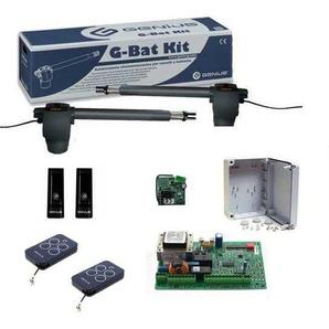Kit automatisation de portail battant G-BAT pour automatismes jusquà 3 m pour porte GENIUS - FAAC