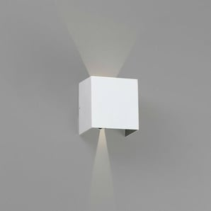 OLAN LED-Applique LED dextérieur Métal H14,5cm Blanc Faro