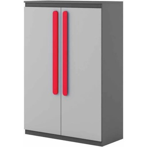 Petite armoire double Play - Rouge