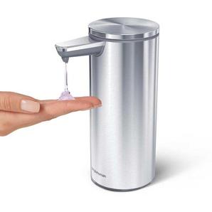 Simplehuman Distributeur de savon à capteur avec doseur automatique, Acier inox
