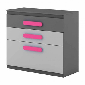 Commode enfant personnalisable Play - Rose