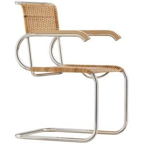 Tecta Chaise cantiveler D40 Bauhaus - nature - Hêtre nature - patins en feutre