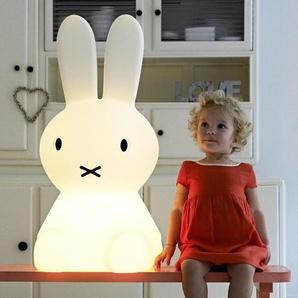MIFFY XL-Lampe de sol LED Lapin H80cm Blanc Mr Maria