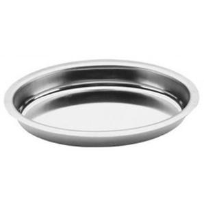 Plat à gratin ovale en inox - 38x23 cm