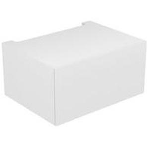 Keuco Edition 11 Module élément bas 31311, 1 tiroir à casseroles, 700 x 350 x 535 mm, Corps/Avant: Blanc laqué brillant / Blanc laqué brillant - 31311210000 - KEUCO GMBH & CO. KG