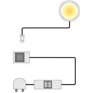 Spot LED Floriano