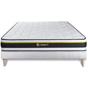 Ensemble sommier + matelas SOFT 140x190 - SLEEPFIT