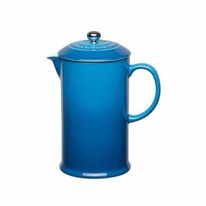 Le Creuset - Cafetière - bleu marseille/convient aussi pour micro-ondes & congélateur/H22/0,8L
