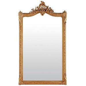 Miroir à moulures dorées 104x185