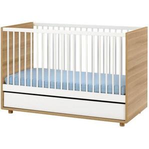 lit bébé évolutif scandinave 140x70 Evolve - Blanc