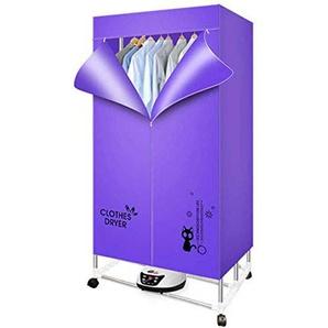 JYDSG Professional Sèche-Linge Sèche-Linge Professionnel 2000 W - 33 LB Séchoirs pliants à économie dénergie (Anion) Séchage Rapide Séchage Rapide Efficace Minuterie numérique avec té