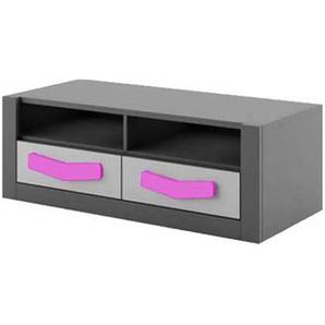 Meuble TV pour chambre ado - Violet
