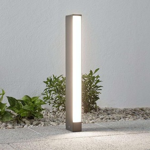 Borne lumineuse LED Lirka, gris foncé, à 1 lampe