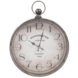 Horloge gousset en métal 30x39