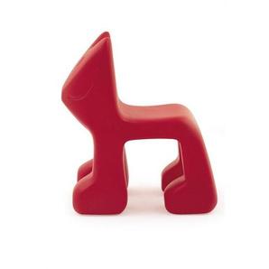 Magis Me Too Julian - Chaise pour enfants - Pièce unique - rouge/polyéthylène/PxHxP 36x55x49cm