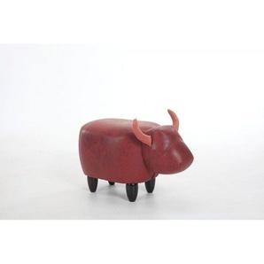 Pouf enfant design vache marron - MARGUERITE - Marron - MEUBLETMOI
