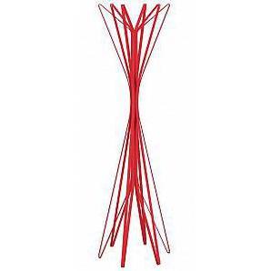 ZANOTTA portemanteau ASTER (Rouges à 6 éléments - Acier)