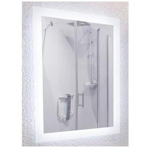 Miroir de salle de bains avec éclairage LED - Modèle Led 90 - 60 cm x 90 cm (HxL) - PRADEL