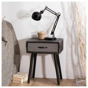 Chevet design industriel vintage 1 tiroir Alta