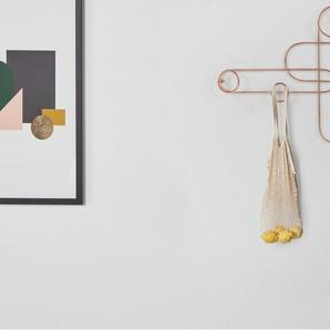 Kaia, crochets muraux décoratifs, cuivre