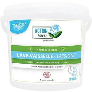 ACTION Verte Tablette pour lave-vaisselle ACTION Verte Classique - 160 Unités