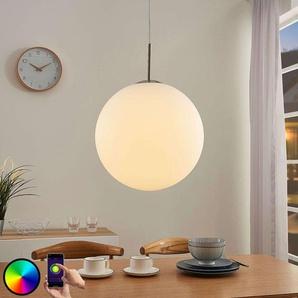 Lindby Smart suspension LED RVB Rhona, appli