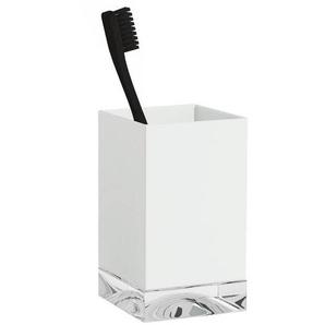 Kartell - Verre à dents - blanc/transparent