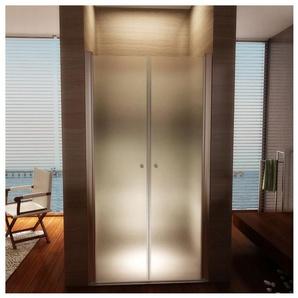 Porte de douche 195 cm largeur réglable 68-72 cm Dépoli-opaque - MONMOBILIERDESIGN
