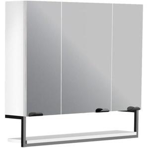 Armoire de toilette 80 cm Faktory blanc mat - ALLIBERT