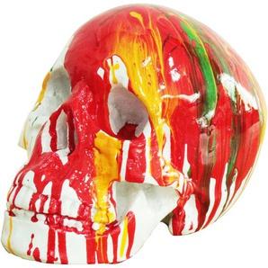 Kuateh Figurine Tête De Mort Kuatéh 22 cm x 15 cm x 16 cm Multicolore - 50221011416622 - KUATÈH