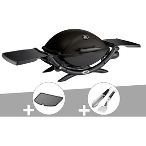 Barbecue à gaz Weber Q 2200 + Plancha + Kit Ustensile