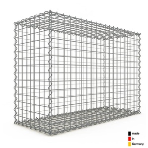 Gabion 100x70x40cm « made in Germany » - mailles carrées 5x5cm - GABIONDECO